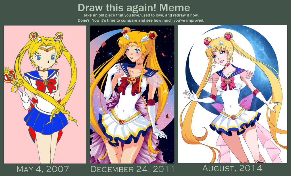 how to draw sailor moon dragoart
