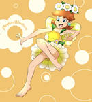 Fairy Daisy (Mario Kart Tour) by DomedVortex