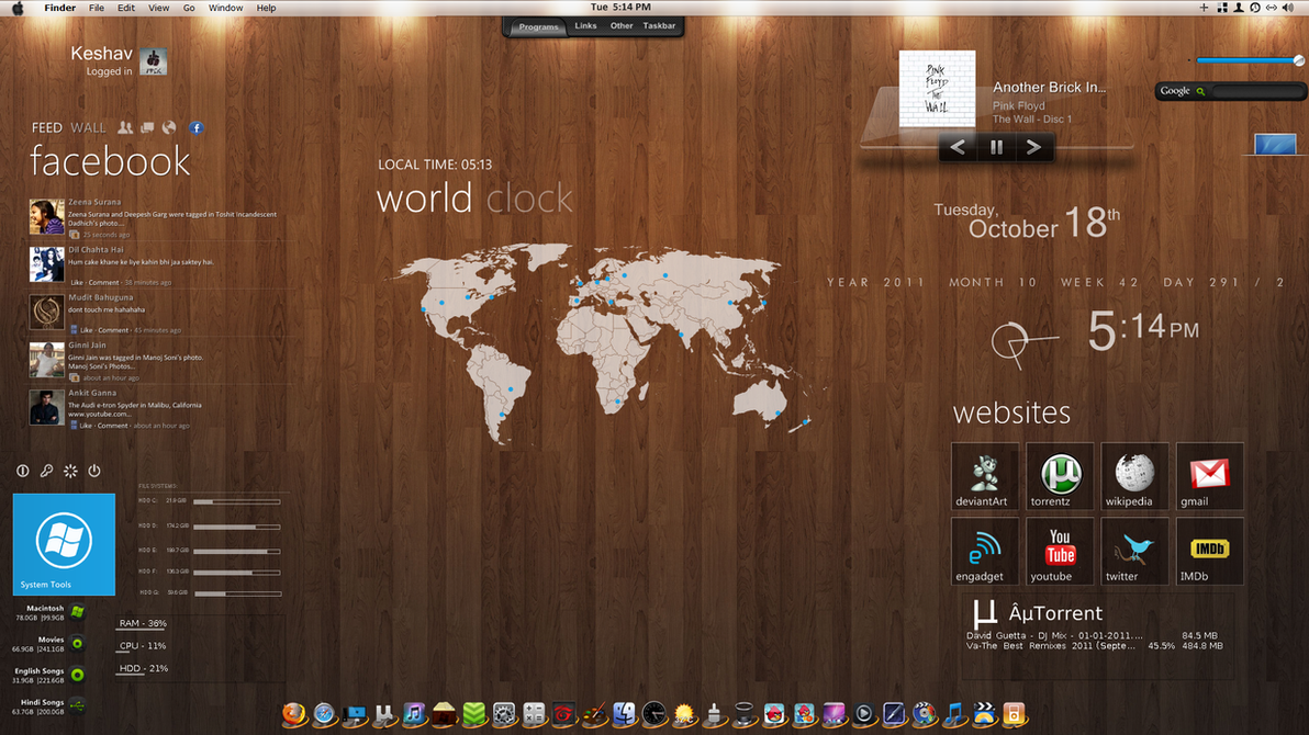 Mac OS for Windows 7 by imcoolkk