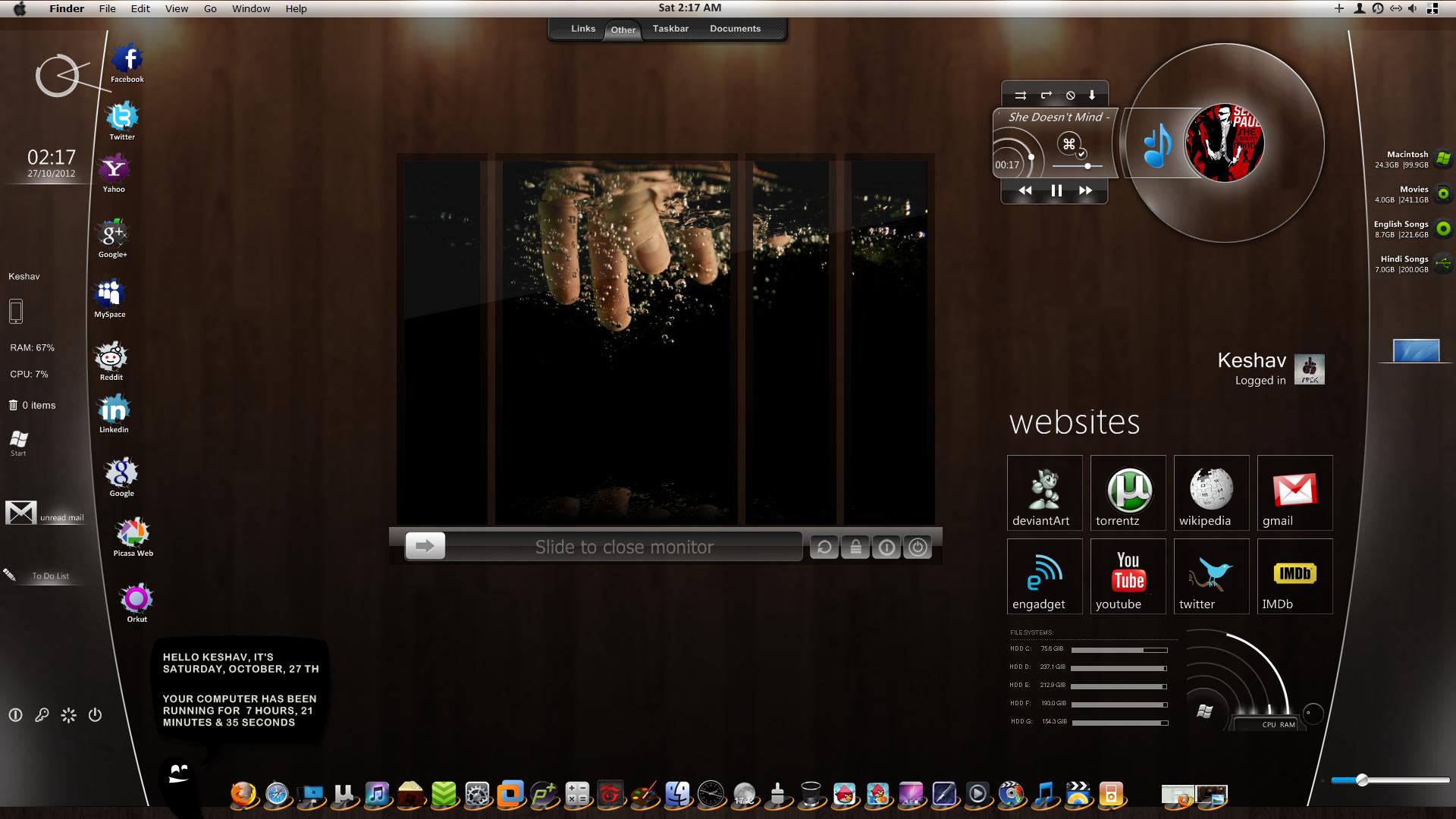 mac skin for windows 7