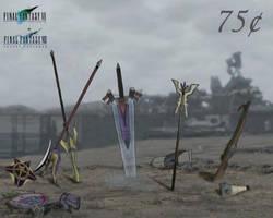 Final Fantasy 7: Stamp by Oblivexx