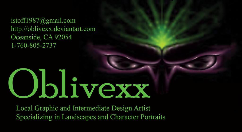 Oblivexx Business Card
