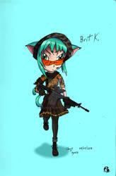 Brit K. Sniper 1 / 3 (Fall Attire)