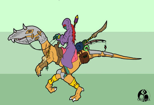 Troll and Raptor Mount
