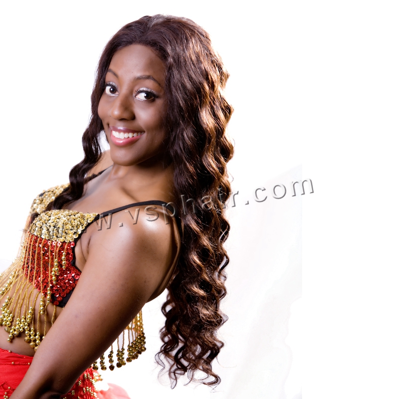 Pure Indian Remy Hair Weaves With Big Curl Style By Vsphumanhair On