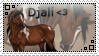 Djali Stamp by Tattered-Dreams