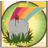 Kaimanawa Level Badge - Over The Rainbow Bridge by Tattered-Dreams