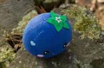Blueberry Kawaii plush, handmade kawaii blueberry