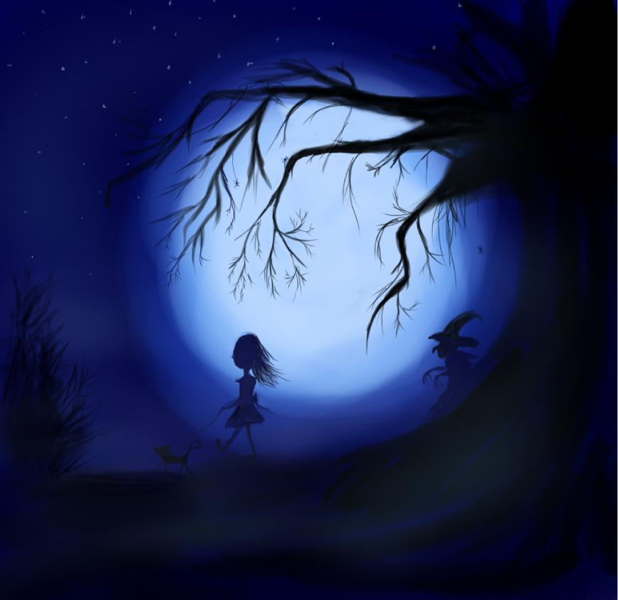 night walk by ZimmerAuditore