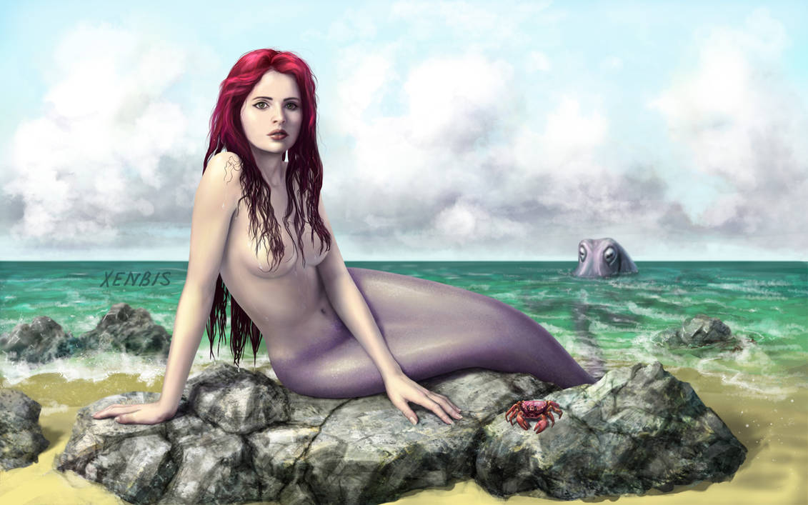 Felicity Jones as Mermaid