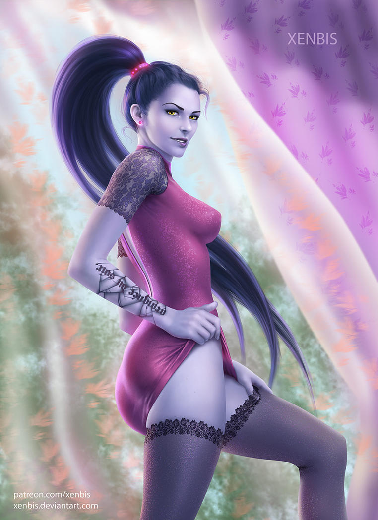 Amorous Widowmaker by xenbis