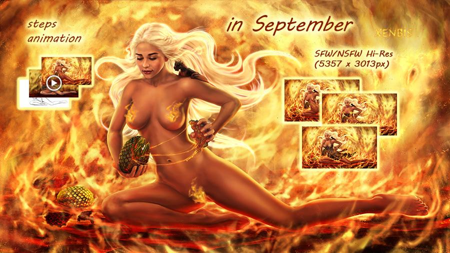 September '17 Patreon reward preview by xenbis