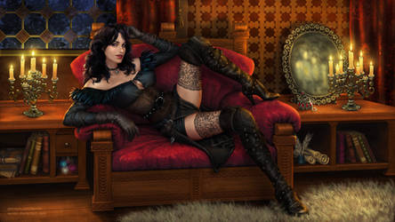 Yennefer's Comfort by xenbis