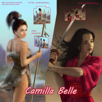 Camilla Belle pack on Gumroad