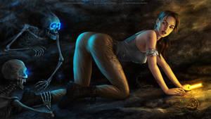 Tomb Raider Crawling: Wallpaper 1920x1080