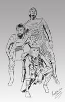 Civ6: Turkic Trio by secret-gloria