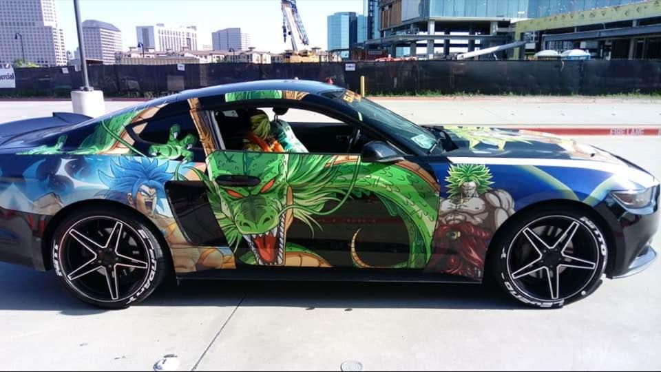 dragon ball z car by thatguy4802