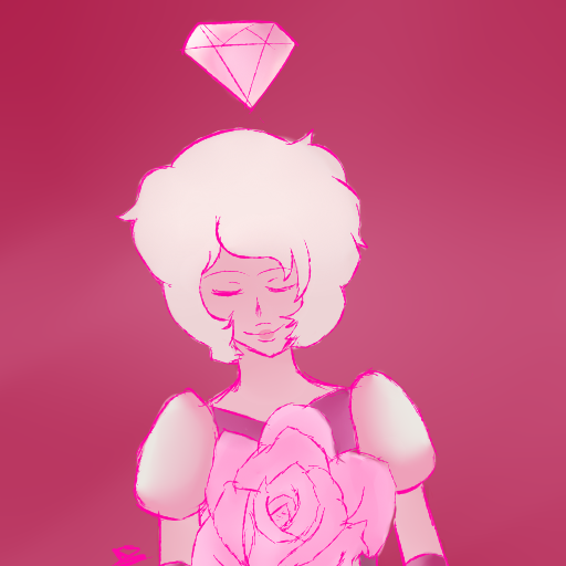 A single pale rose by YuraRonimeIE