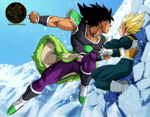 Broly vs vegeta film 20