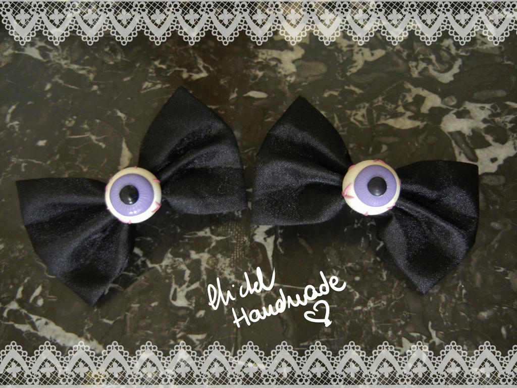 Eye Bow Hair Clips by Bi-BiMichel