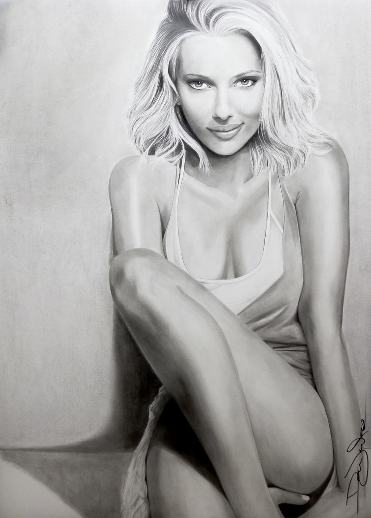 Scarlett Johansson 2 by DML-ART