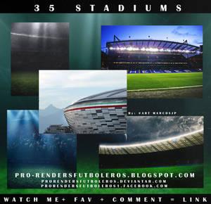 35 STADIUMS FOOTBALL
