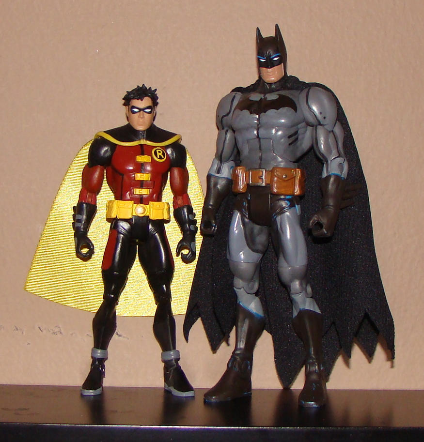 Young Justice Batman and Robin by DaxBerenYoung Justice Robin And Batman