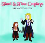 Tami + Tina Cosplays - Hermione + Luna by empoweredfan