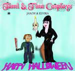 Tami + Tina Cosplays - Jason + Elvira by empoweredfan