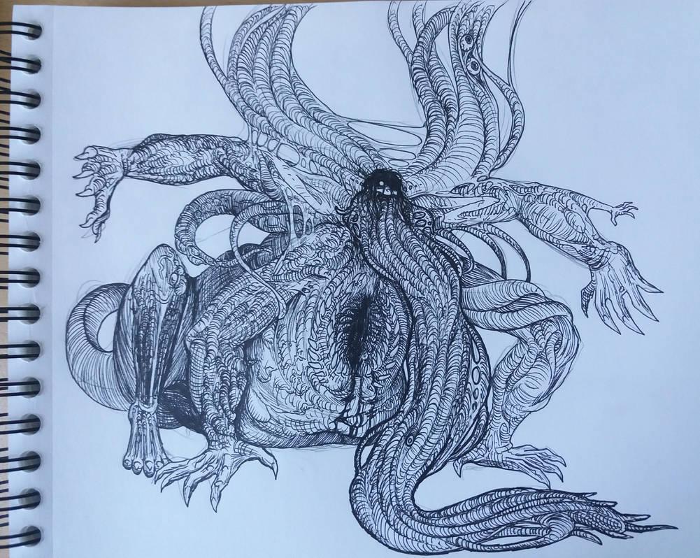 Scylla Garuda by Guyveluwii