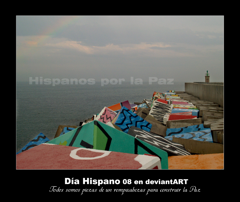 Hispanos por la Paz by disalicia