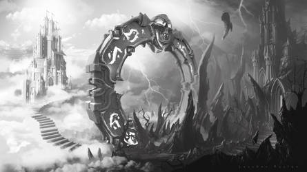 Demon Portal by KhajiitSawyer