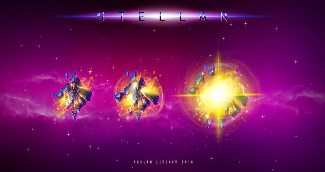 Stellar - Yellow Symbols