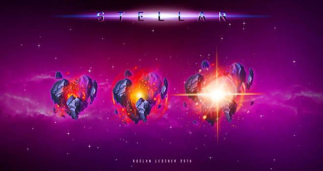 Stellar - Red Symbols