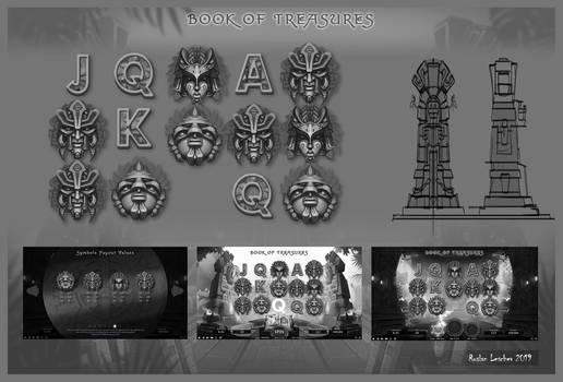 Book of Treasures - Concept Art