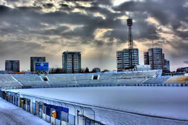 Bacau Football Stadium by vladFixx