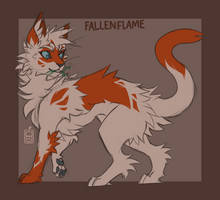 Fallenflame - OC Sketch
