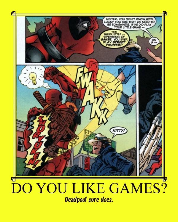Do You Like Games? by TorkBacklash