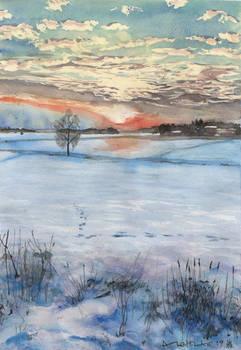 Auringonlasku, Dec 2018