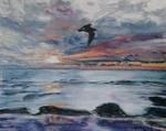Challenge 17: Sunset with bird