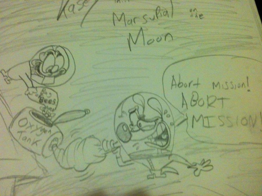 Marsupial on the Moon by Closetshipper