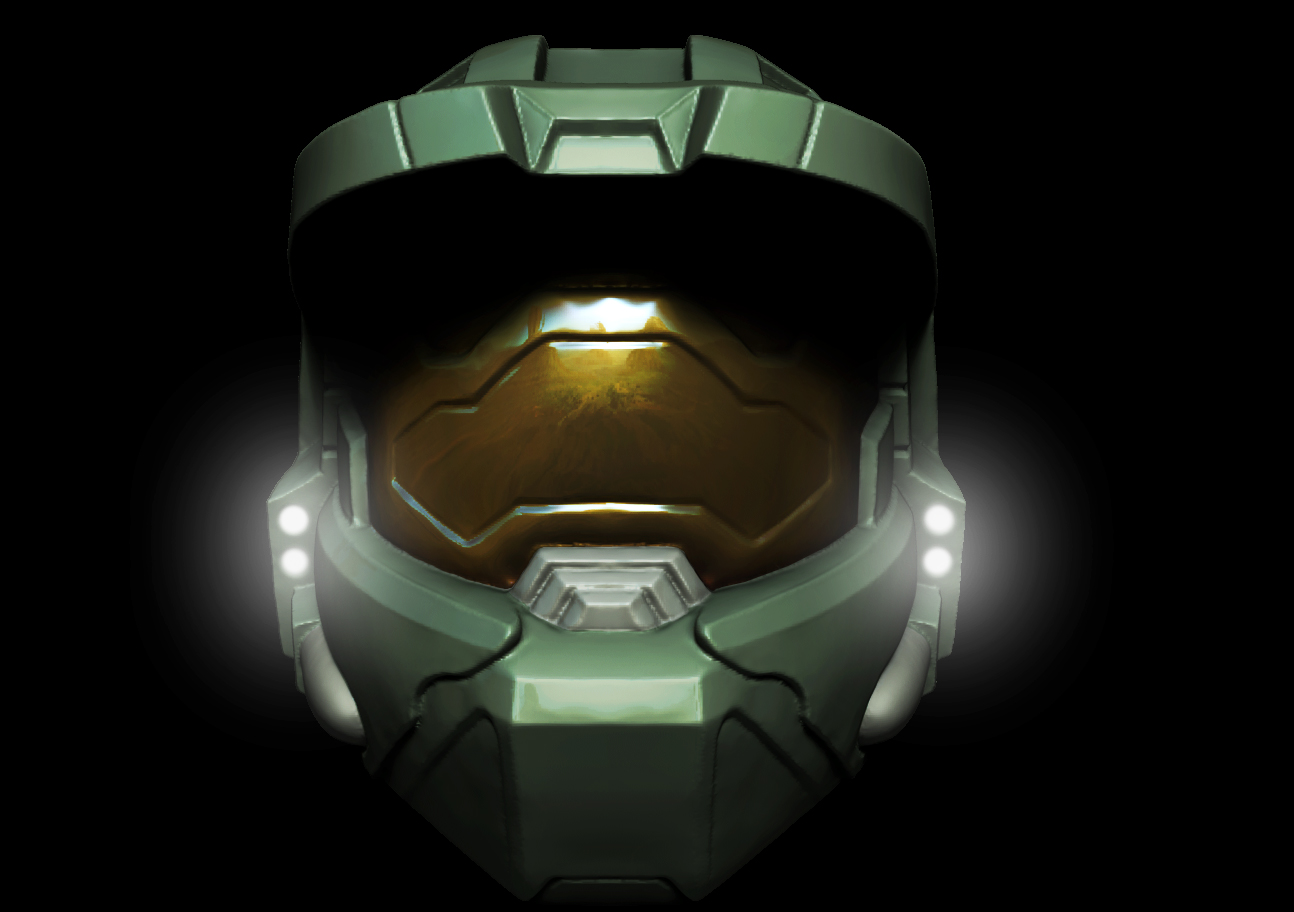 Master Chief Helmet WIP By Grimnor On DeviantArt