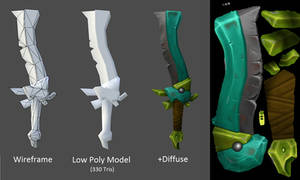Game Model - Sword - Breakdown by Grimnor