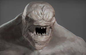 Zbrush 35min Creature Sketch by Grimnor