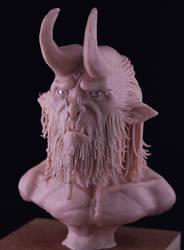 Beast Head - Clay Sculpt by Grimnor