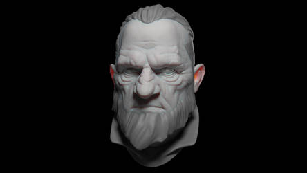 Dishonored - Zbrush Head Sculpt + Timelapse Video
