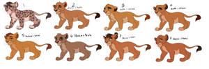 Lion King Cub Adopts 3 CLOSED