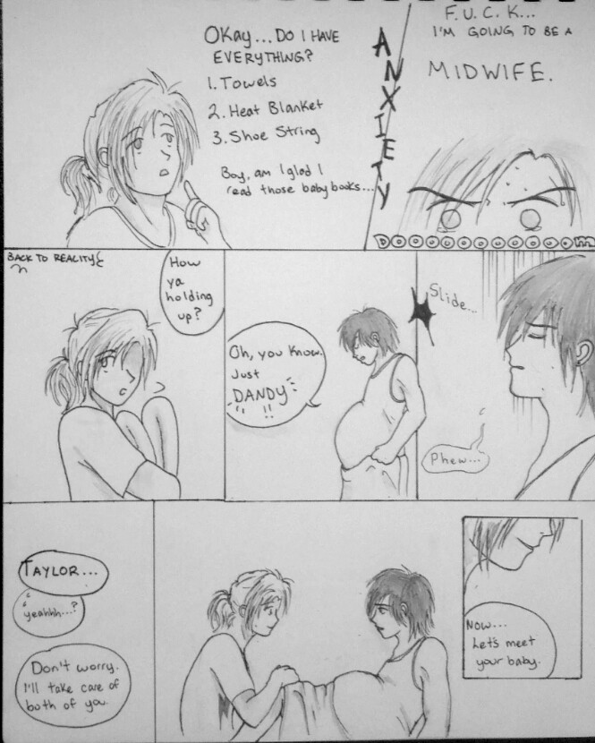 Anime Labor Birth