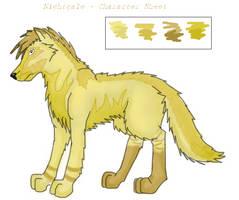 Nightgale. Character Sheet. by Nucozih