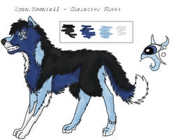 Ryan-Moontail - Charater Sheet by Nucozih